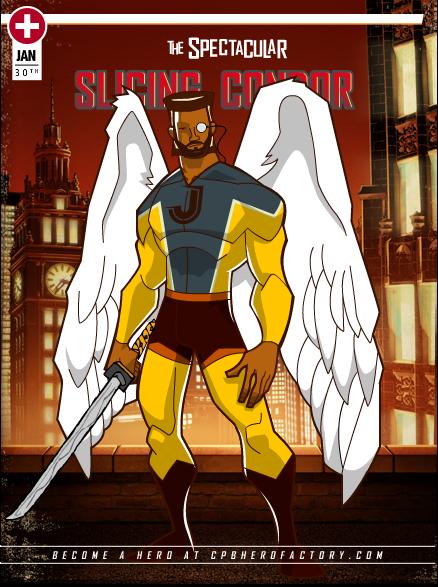 Créer son avatar façon SUPER HEROS Myhero10
